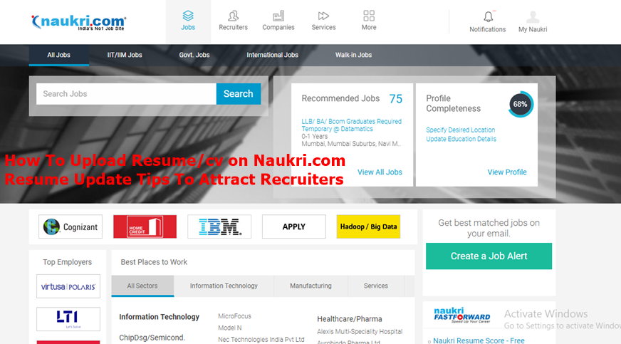 amazing how to upload resume on naukri com gallery simple resume