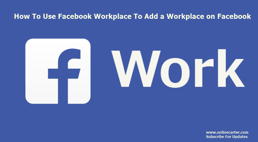 how to delete a workplace from facebook